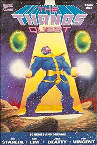 comic thanos quest