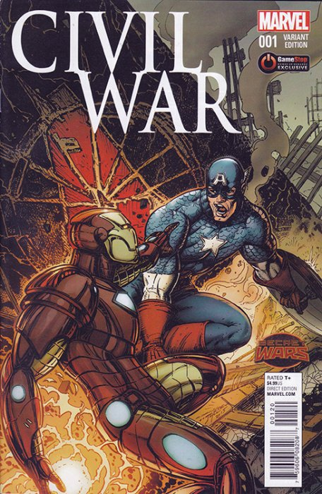 comic civil war